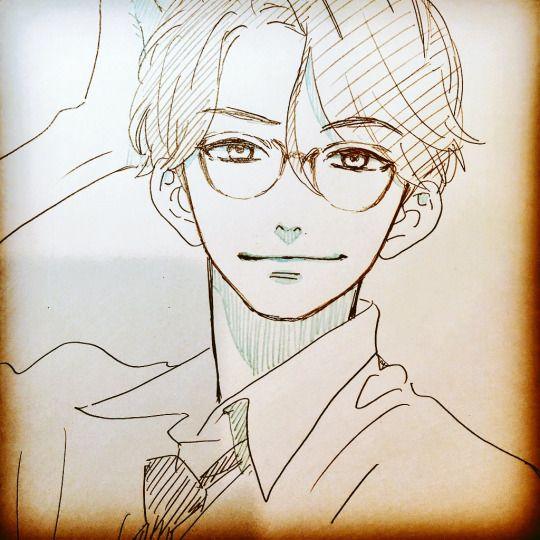 YAMAMORI Mika sketch / Shishio sensei