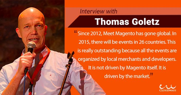 Read Interview with Thomas Goletz, Co-Founder Of #MeetMagento.