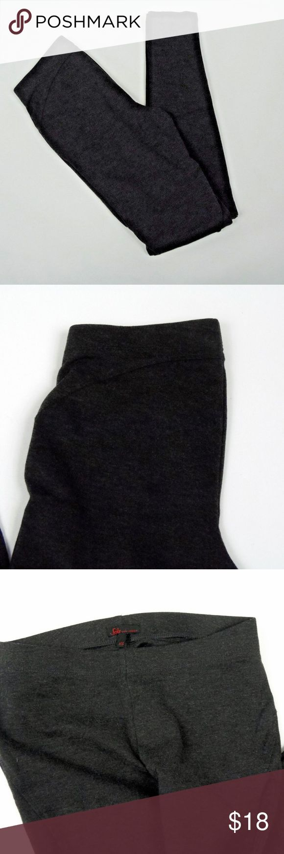 "Sofia Vergara Charcoal Heather leggings, Size XS Sofia Vergara leggings  Color: Charcoal Heather Size - XS   approximate measurements: waist 12""  inseam 28"" 72%Polyester, 24% Rayon, 4% Spandex RN 123475 Excellent Used Condition Sofia Vergara Pants Leggings"