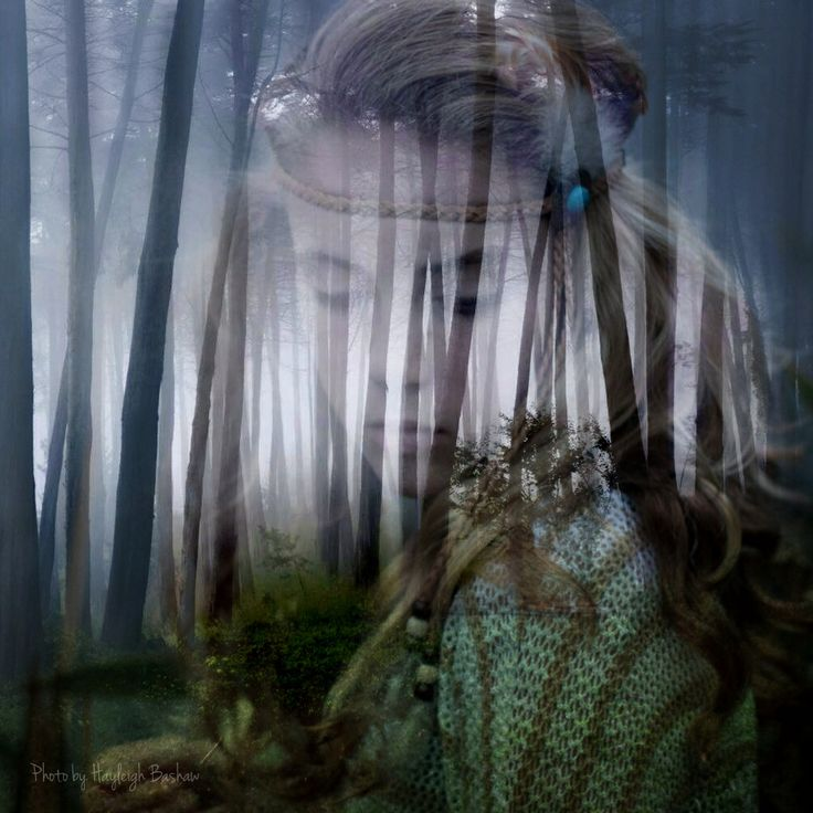 Girl from the woods by Hayleigh Bashaw
