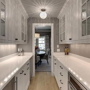 Galley Style Butler Pantry Design