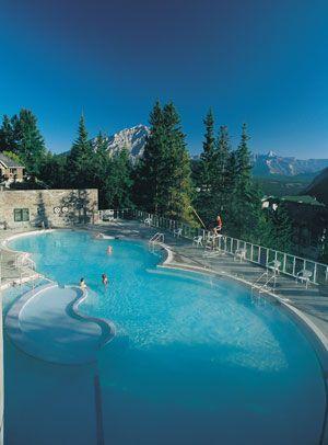 Banff Hot Springs - Banff Park, Lake Louise and Jasper National Park - Canada
