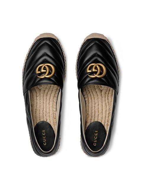 161f683aecd Gucci Espadrille De Couro Com Double G in 2019