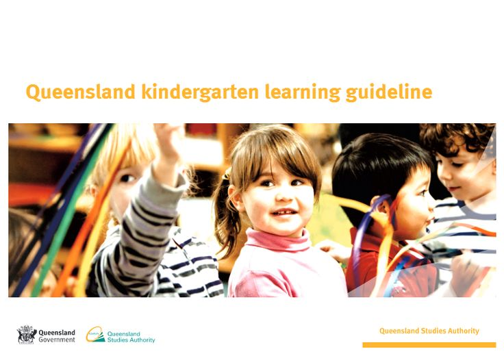 The Queensland kindergarten learning guideline (QKLG) provides advice for planning, interacting with children, monitoring and assessing, and sharing information in kindergarten contexts.