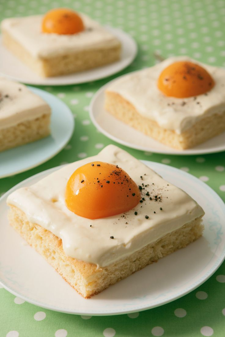 Spiegeleikuchen - Ostereikuchen | Rezept | Spiegeleikuchen