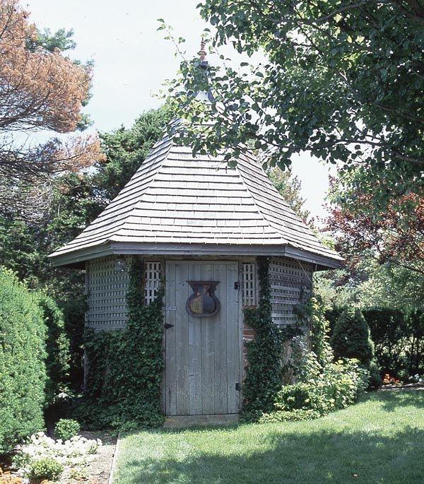 Old English Garden ShedGarden Sheds, Pots Tables, Gardens Can, Rattlebridg Farms, English Gardens, Cottages, Greenhouses Gardens, Pots Sheds, Pots Benches