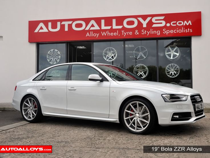 Audi A4 With 19 Quot Bola Zzr Alloy Wheels Supplied By