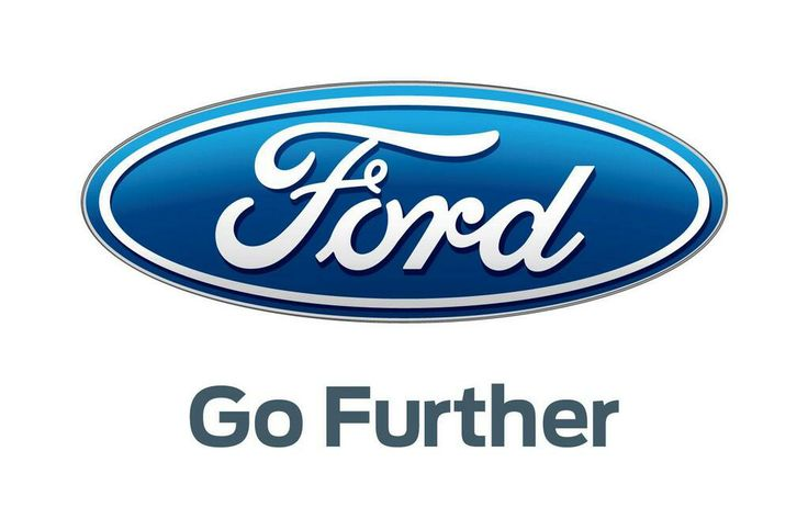 "Ford ""Go Further"" Slogan Logo"
