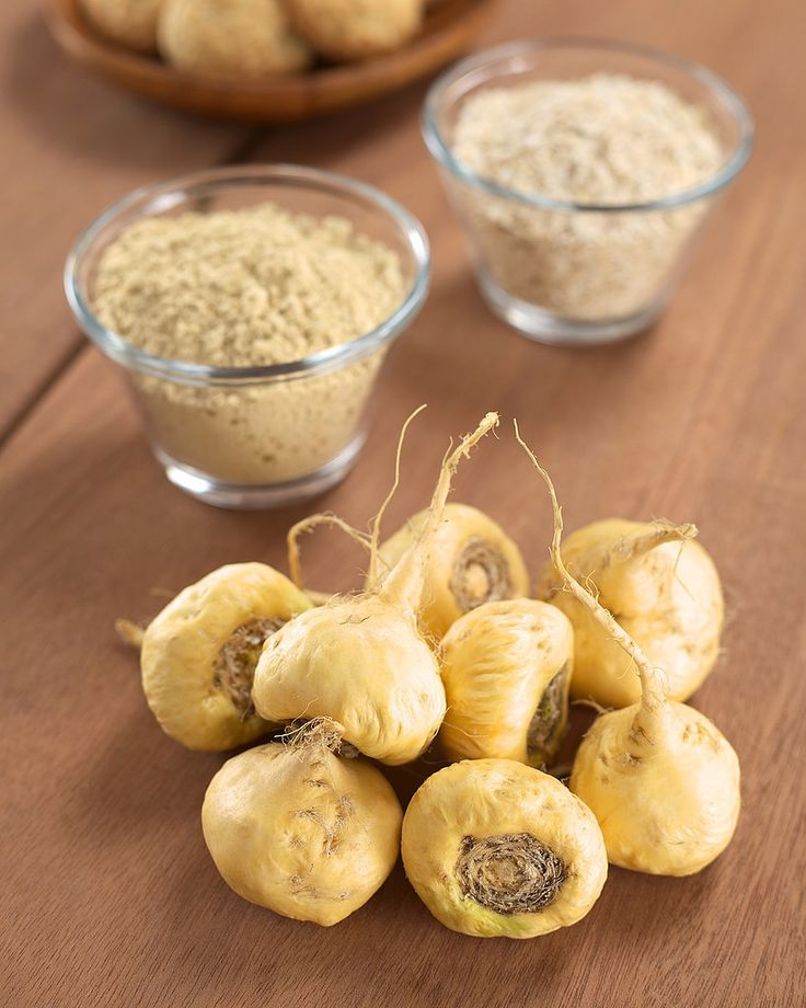 Maca is an Andean root vegetable that South American cultures have enjoyed for centuries to improve energy, balance hormones, and enhance libido — the Incan warriors were even known to eat maca for endurance.