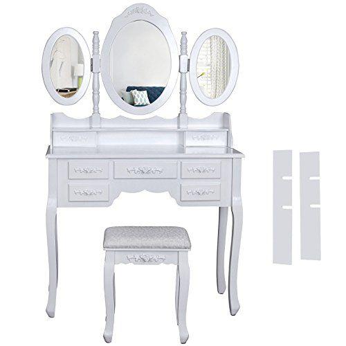 toilette con specchiera moderna