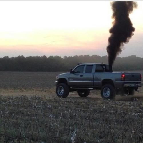 Chevy Duramax Rollin Coal In a Corn Field:):):):):):):) I love summer and driving the truck in summer:)