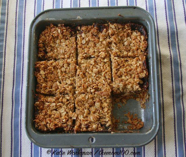 One-Pot Raspberry Oatmeal Bars: Raspberry Oatmeal Bars