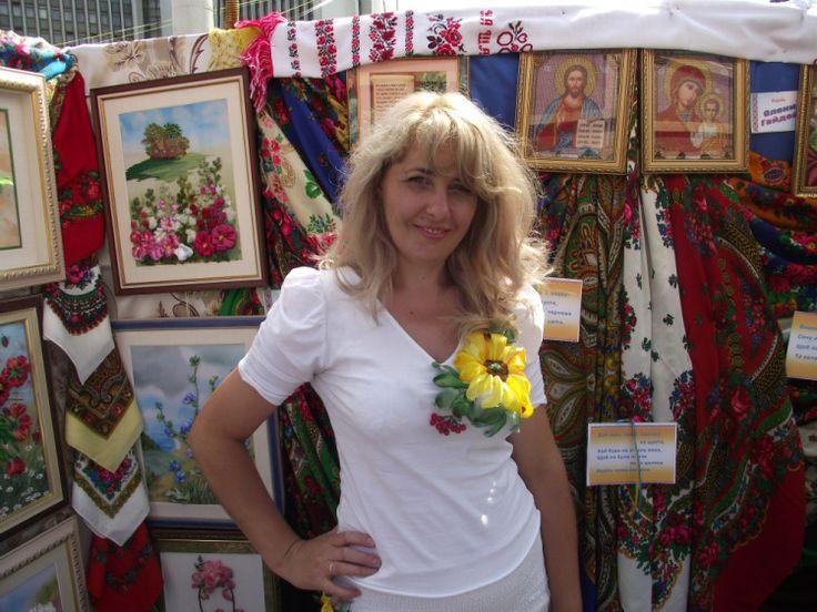 (1185) Gallery.ru / Фото #6 - Вышивка на одежде - Nadunchik