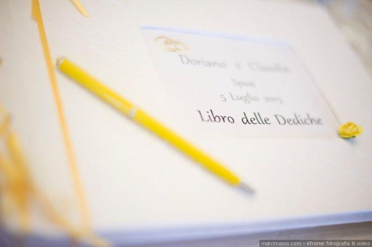 Libro delle dediche per gli invitati di nozze