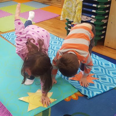 Let Your Light Shine Bright: Kids Yoga Lesson Plan for the holidays