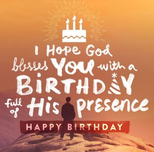 Blessing Birthday Wishes Quotes God Messages To Wish Your Friend This Spiritual Sms Happy
