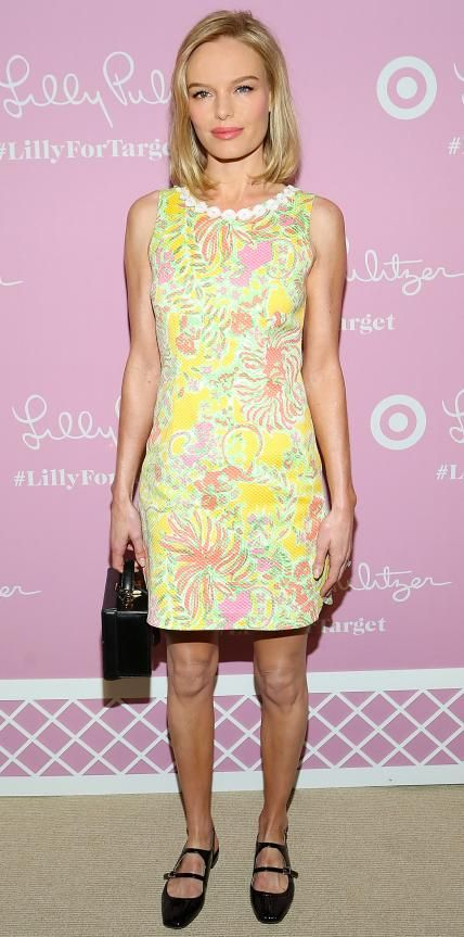 Look of the Day - April 16, 2015 - Kate Bosworth in Lilly Pulitzer for Target from #InStyle