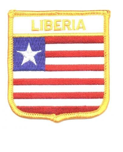 Liberia Patch Collectible Iron-On High Quality Stitching