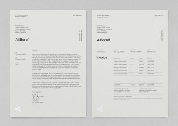 17 Best images about INVOICE on Pinterest Logos, Self promotion - design an invoice