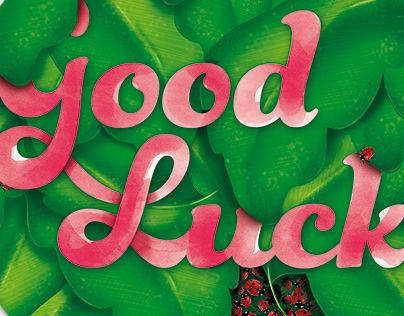 """Check out new work on my @Behance portfolio: """"Good Luck"""" http://on.be.net/1Ix17dy"""