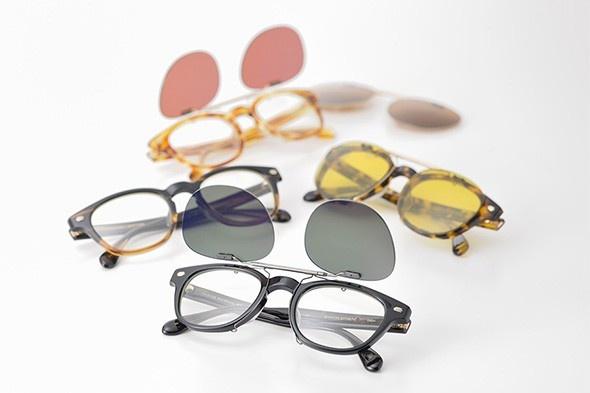 Lunettes Oliver Peoples x Maison Kitsuné : à l'occasion du lancement de la nouvelle boutique Maison Kitsuné à Tokyo, Oliver Peoples s'associe à la marque parisienne pour créer une collection capsule de lunettes d'inspiration Fifties.