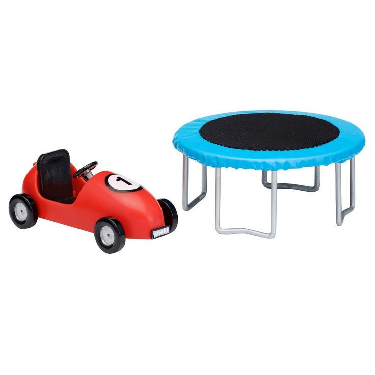 Lundby Trampoline and Coaster car