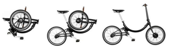 Last Mile Electric Folding Bicycle