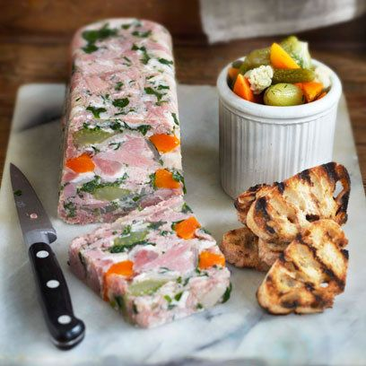 92 ideas for christmas food starters smoked salmon rye recipe impress your christmas dinner guests with this ham hock terrine forumfinder Image collections