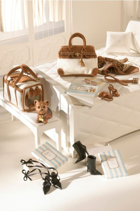 New York Yorkie Barbie Accessory Pack                                                                                                                                                                                 More