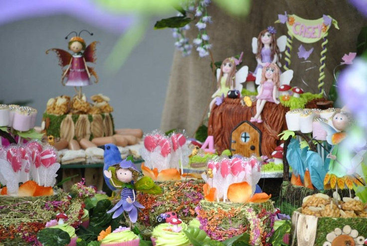 Detail on dessert table