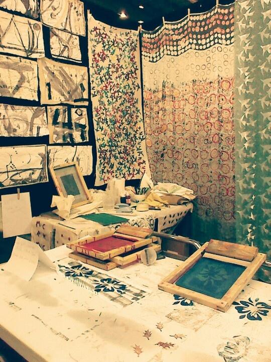 Silk screen // printing // art // color