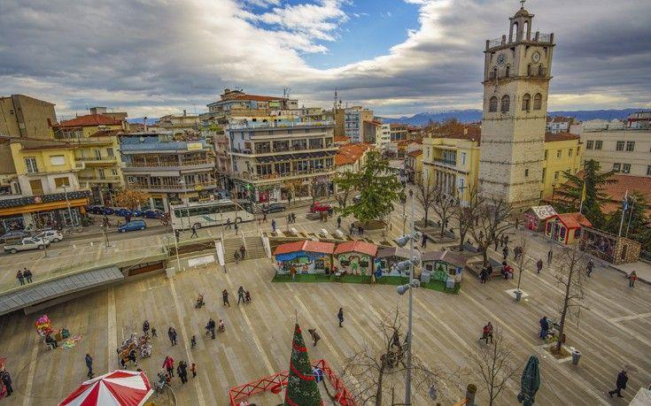 Kozani, Macedonia, Greece - Town Center.