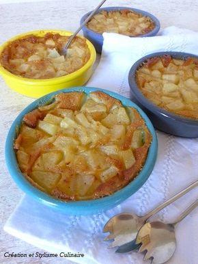 Voilà un dessert sans gluten tout doux au lait de riz-amande. Il se décline avec tous les fruits de saison : pommes, bananes, abricots, prunes, cerises...