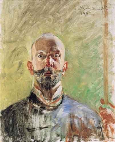 Jacek Malczewski - Self-portrait (1902)