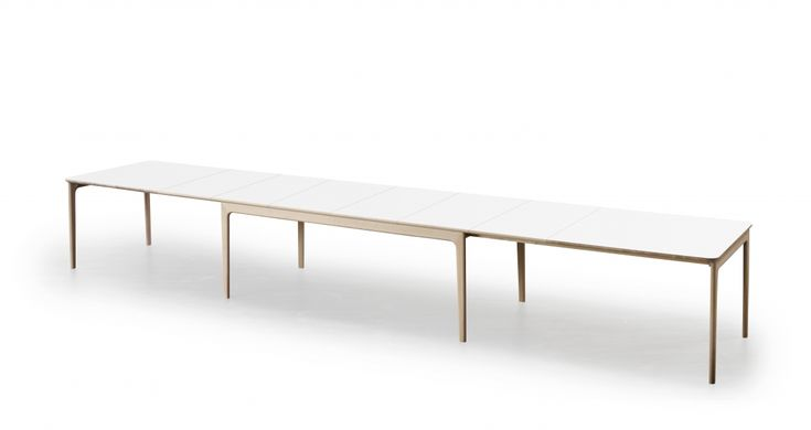 Skovby #27 dining table. Patent pending extension. Up to 20 people. | Skovby Møbler