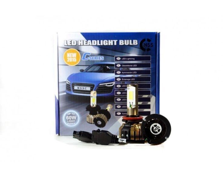 Buenos días amig@s!! #FelizJueves!! Hoy en carmultimediazone.comqueremos destacar nuestros Kits de 2 #bombillas de #LED H11 60w para cruce/carretera 4800 #lumen a un precio irresistible y disponibles en sólo 24 horas Gastos de envío GRATIS!! Este kit sirve para sustituir las bombillas originales del coche. Vale tanto para luces cortas (cruce) como largas (carretera). Simplemente hay que quitar las bombillas originales halógenas y poner estas de LED.