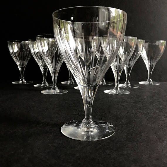 446 best redmore design studio images on pinterest for Thin stem wine glasses