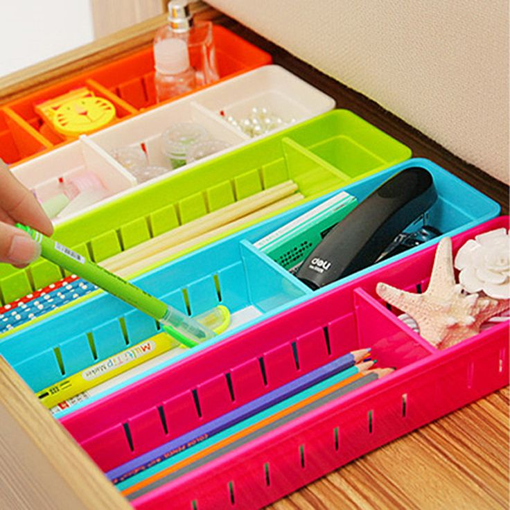 Aliexpress.com : Buy 5 Colors Adjustable New Drawer Organizer Home Kitchen Board…