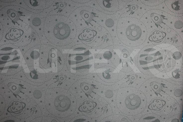 Autex Interior Acoustics - Etch™ - Cosmos - Colour: Silver