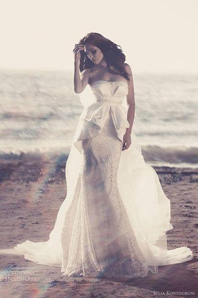 Suknie ślubne Julia Kontogruni - white wedding dress