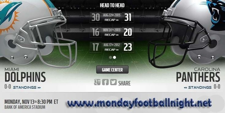 Monday Night Football Live    https://mondayfootballnight.net/panthers-vs-dolphins-live-stream/