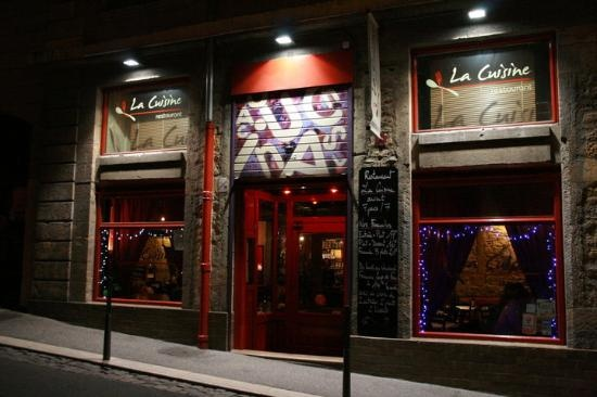 La Cuisine (Lyon): unlike the restaurant's name, a meal here is far from prosaic - an excellent address with a creative menu near the Lyon opera.