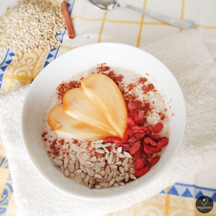 Papas de Trigo Sarraceno e Aveia | Buckwheat Wheat and Porridge Oats | Visit site for Recipe
