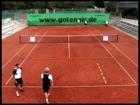 tennistraining - serve and return drill