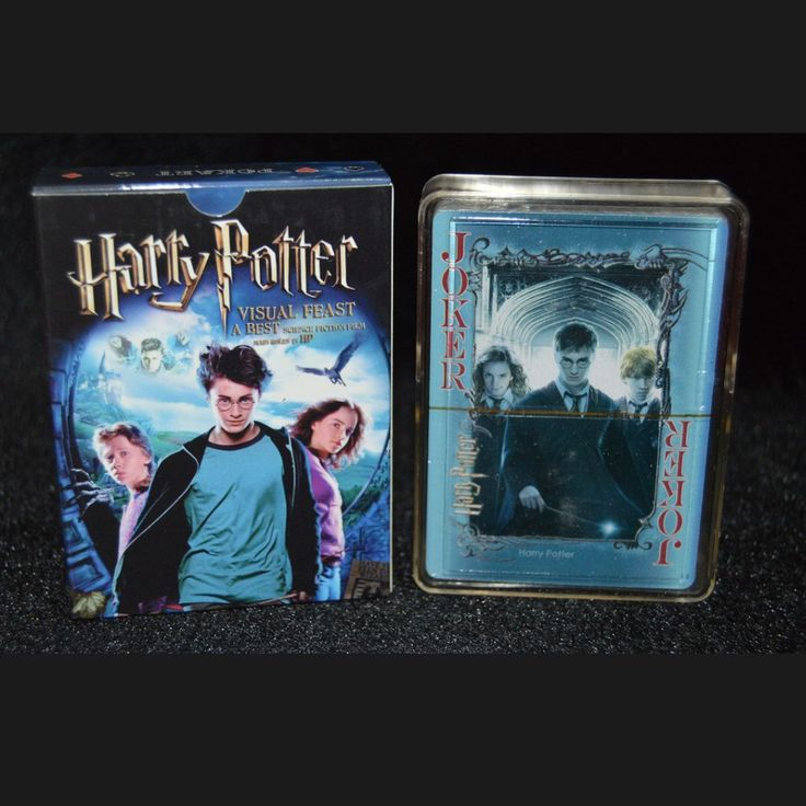Paper Collective Harry Potter Poker Movie Owl Playing Cards Novelty Christmas Presents for Kids