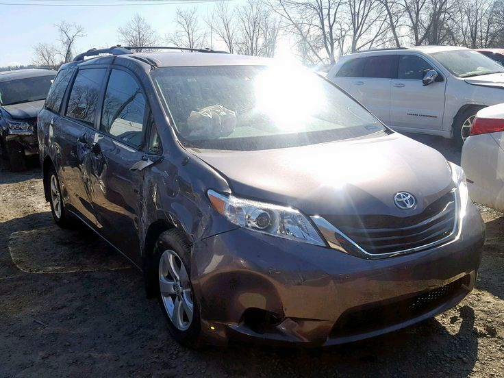 Salvage 2014 Toyota Sienna Le Van For Sale Salvage Title