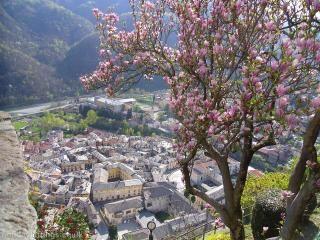Varallo , Piedmont , Italy : landscape.