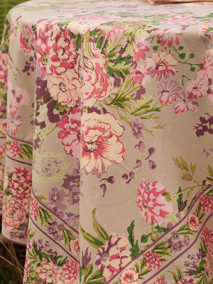 April Cornell Tablecloth