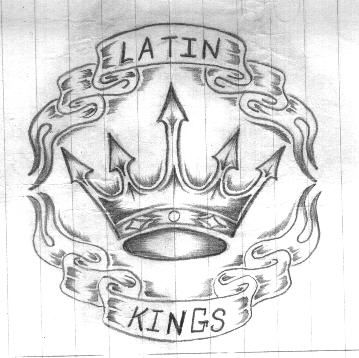Latin Kings Tattoo Sketch