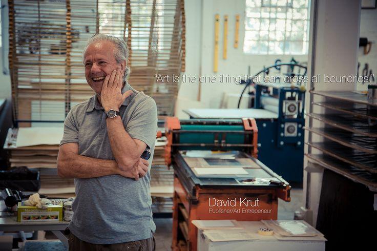 Publisher and Art Entrepreneur - David Krut